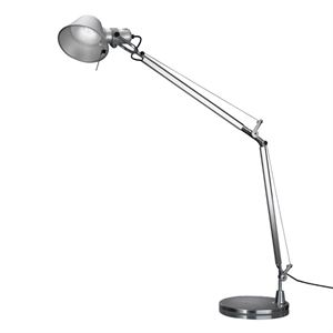 Artemide Tolomeo LED Table Lamp Aluminium