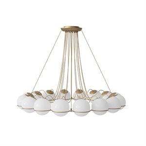 Astep Model 2109/16/20 Ceiling Light Champagne