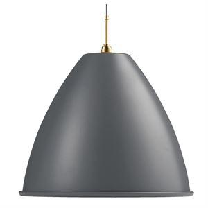 Bestlite BL9XL Pendant Grey & Brass