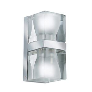Fabbian Ice Cube Double Wall Light