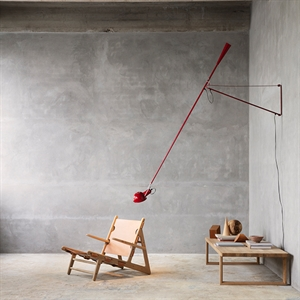 Flos 265 Wall Lamp Red