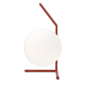 Flos IC T1 Short Table Lamp Red Burgundy