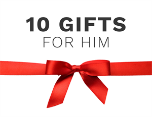 10 Gift Ideas for every man: The best of designer lighting
