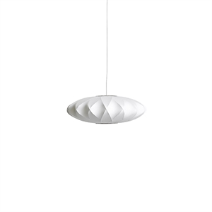 HAY Nelson Saucer Crisscross Bubble Pendant Small White
