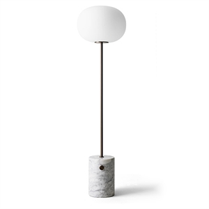 MENU JWDA Floor Lamp White Marble & Browned Brass