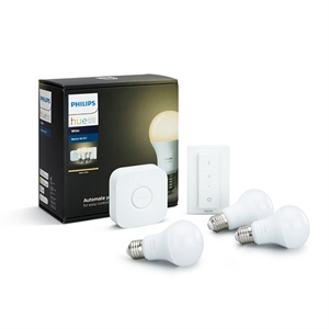 Philips Hue White 9.5W E27 Starter Pack