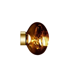 Tom Dixon Melt Surface Wall/Ceiling Light LED Gold Small