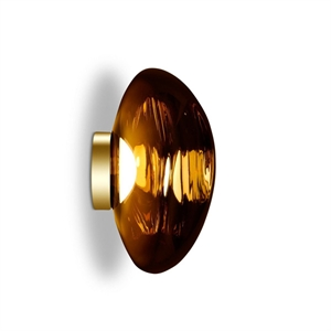 Tom Dixon Melt Surface Wall/Ceiling Light LED Gold Large