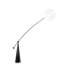 Tom Dixon Opal Arc Floor Lamp White