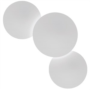 Vibia Puck Three Ceiling Light White