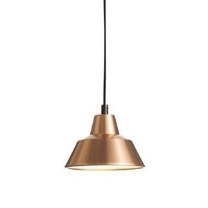 Made By Hand Workshop Lamp Pendant Copper/White W1