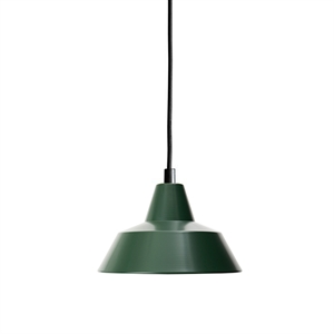 Made By Hand Workshop Lamp Pendant Racing Green W1