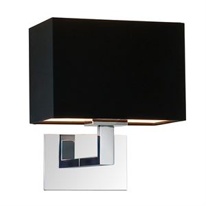 Astro Connaught Wall Light Black