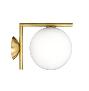 Flos IC C/W 1 Wall Lamp Brass