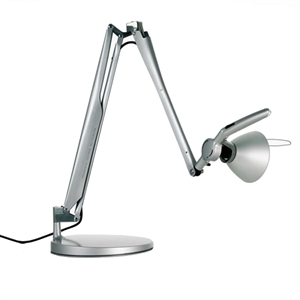 Luceplan Fortebraccio Table Lamp Aluminium