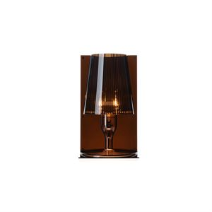 Kartell Take Table Lamp Smoke