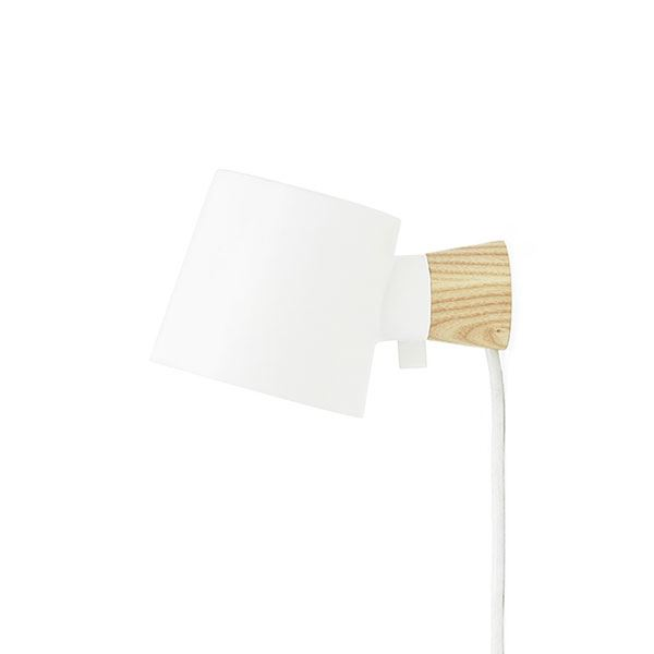 Normann Copenhagen Rise Wall Lamp White