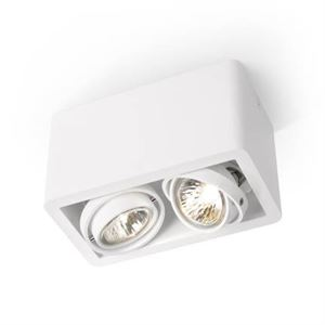 Trizo 21 R52 UP Spot & Ceiling lamp White