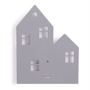 roommate Town House Silhouette Wall lamp Grey