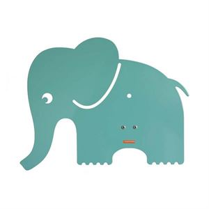 roommate Elephant Silhouette Wall lamp Blue/Green