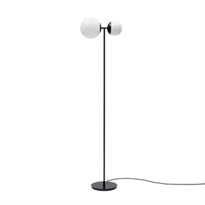TATO Biba Floor Lamp White & Matt Black