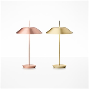 Vibia Mayfair Table Lamp Glossy Copper